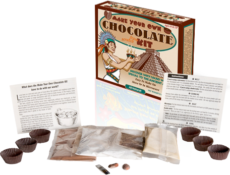 Make Your Own Chocolate Kit Contents from Glee Gum