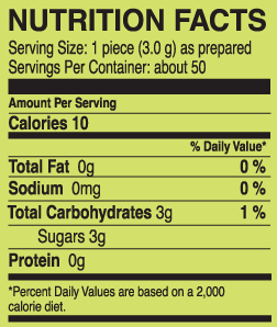 make-your-own-chewing-gum-kit-nutrition-facts-panel