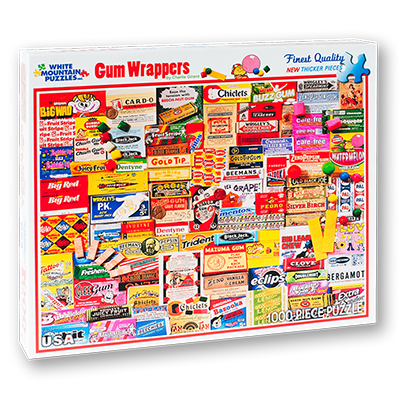 Gum Wrappers Jigsaw Puzzle Glee Gum