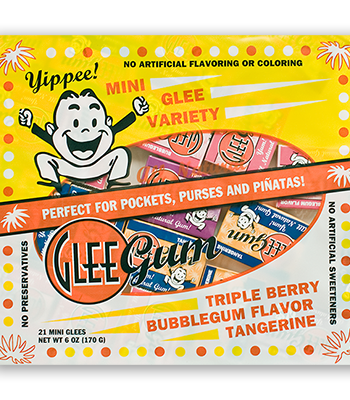 Mini Glee Variety Pack from Glee Gum