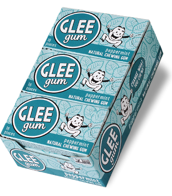 Peppermint Glee Gum Case