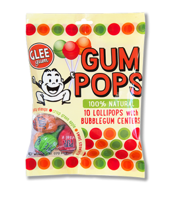 Glee Gum Pops Bag