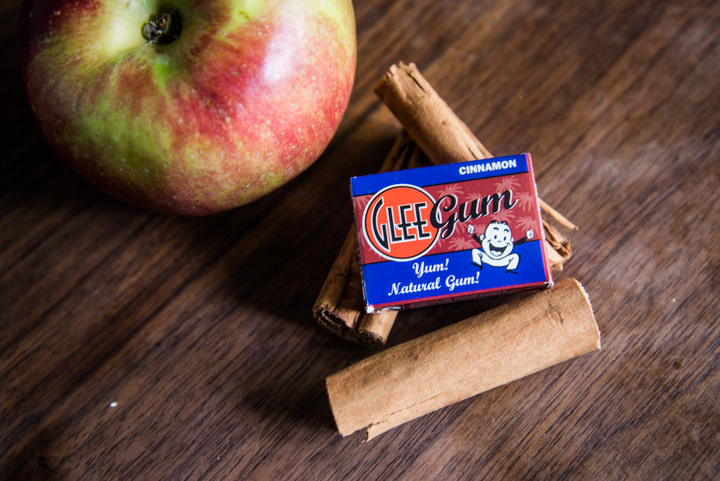 Cinnamon Glee Gum with Apple