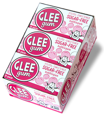 Sugar-Free Bubblegum Glee Gum Case