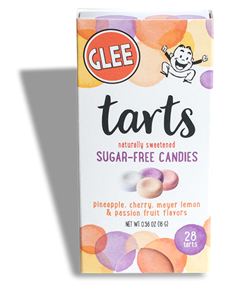 Sugar-Free Glee Tarts Box - Front