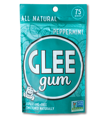 Peppermint Glee Gum Pouch